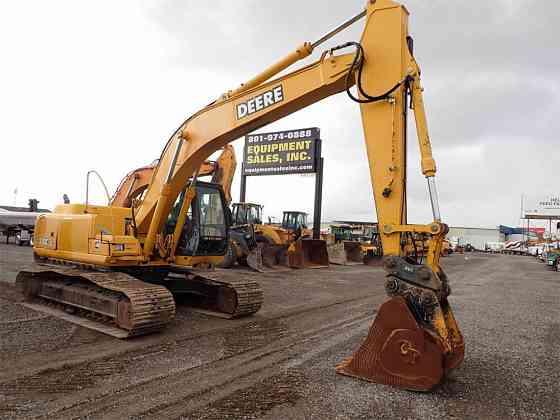 USED 2007 DEERE 200C LC Excavator Salt Lake City