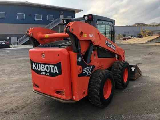 USED 2017 KUBOTA SSV75 Skid Steer Lynchburg