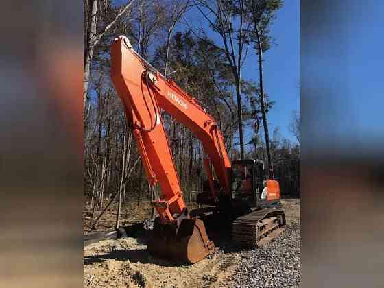 USED 2012 HITACHI ZX350 LC-5N Excavator Danville, Virginia
