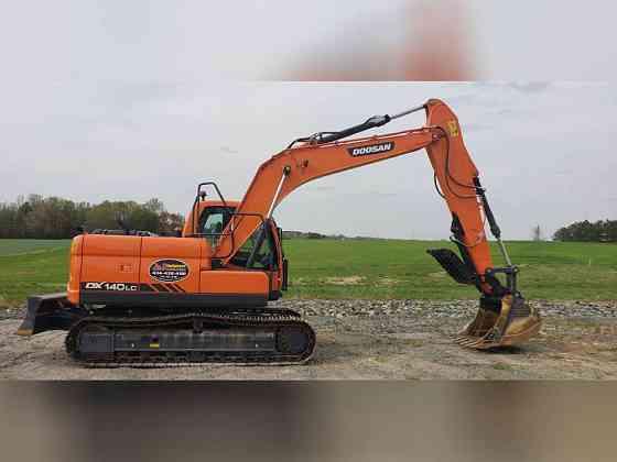 USED 2018 DOOSAN DX140 LC Excavator Danville, Virginia