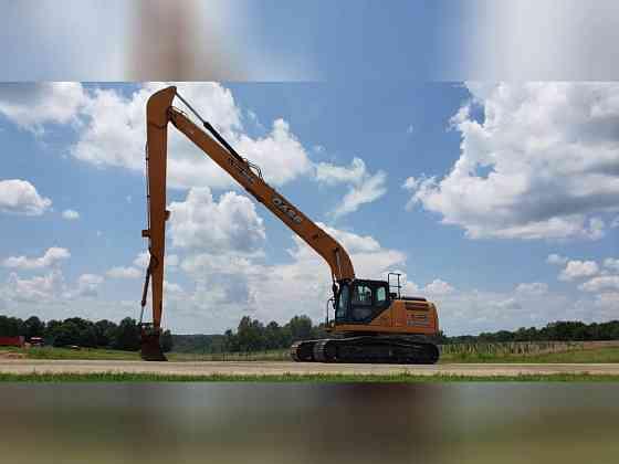 USED 2016 CASE CX250D LR Excavator Danville, Virginia