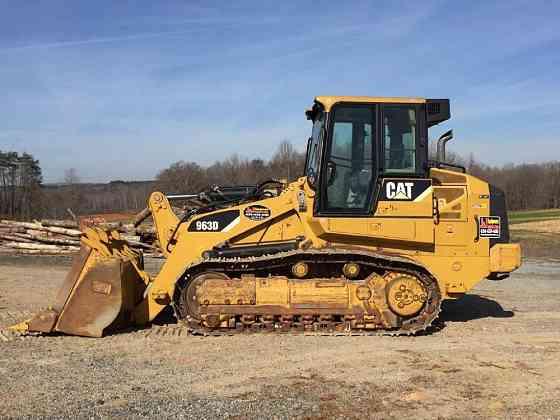 USED 2009 CATERPILLAR 963D Crawler Loader Danville, Virginia