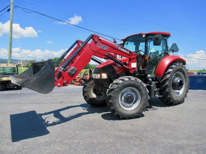 2014 CASE IH FARMALL 115U Tractor Harrisonburg - photo 4